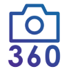 360 photography services by mtb strategies service icon