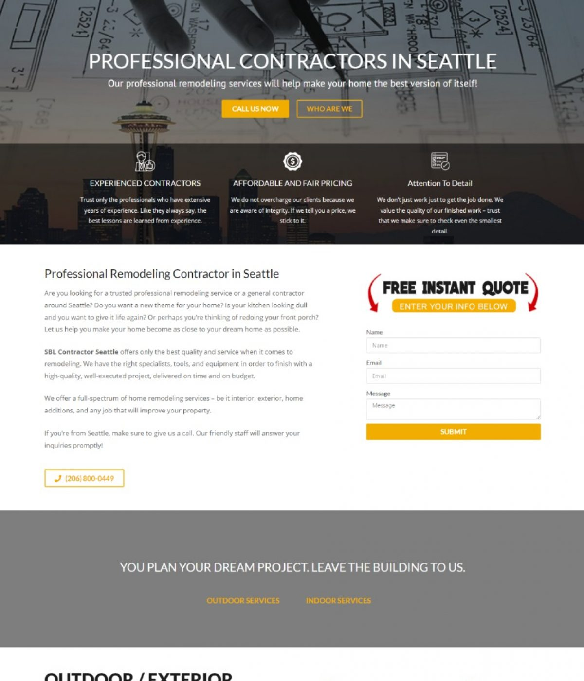sbl contractor seattle by mtb strategy